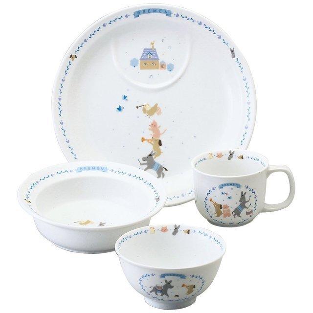 ナルミ(NARUMI) ブレーメン 幼児セット(ブルー) ,子ども,食器,おすすめ