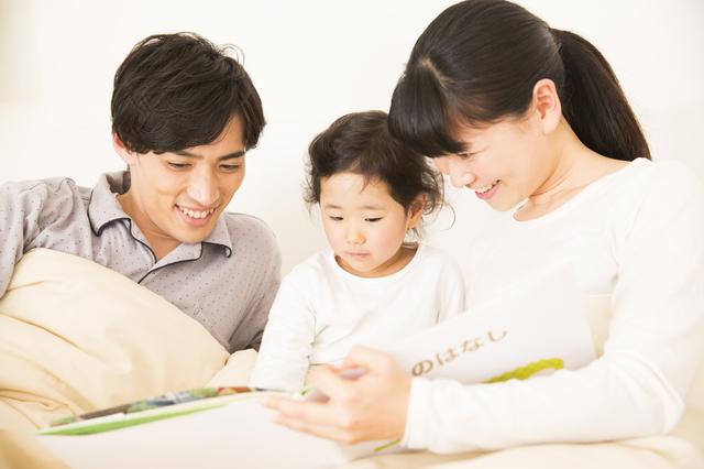 絵本を読む親子,絵本,おすすめ,4歳