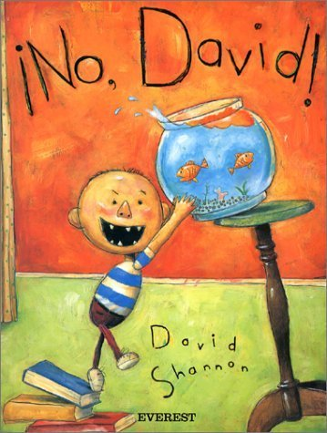 No, David! [Spanish Language Edition],絵本,おすすめ,4歳