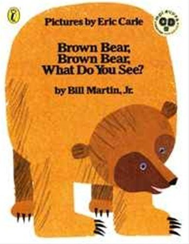 Brown Bear, Brown Bear, What Do You See? 英語絵本とmpiオリジナルCD付き (BrownBear, Brown Bear, What Do You See?),英語,絵本,CD付き