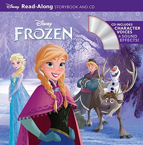 Frozen Read-Along Storybook and CD,英語,絵本,CD付き
