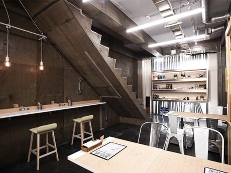 Designers Dining 76CAFE omotesandoの店内,個室,表参道,ランチ
