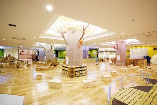 木でできたおもちゃがたくさん,無料,北九州,遊び場