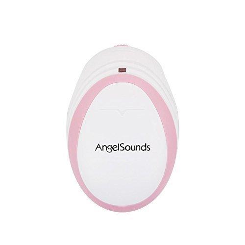 胎児超音波心音計 エンジェルサウンズ Angelsounds JPD-100S mini (ピンク),妊娠20週,エコー,
