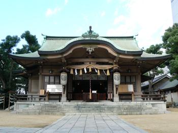 坐摩神社,安産祈願,神社,大阪