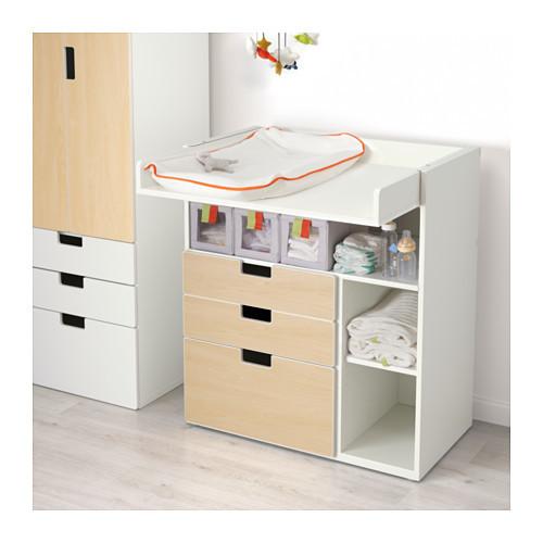 STUVA チェンジングテーブル 引き出し3個付き IKEA,赤ちゃん用品,収納,
