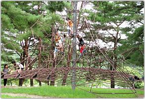 県立紫雲寺記念公園,バーベキュー,雨,新潟
