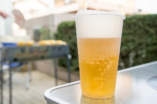 冷えた生ビール,広島,バーベキュー,手ぶら