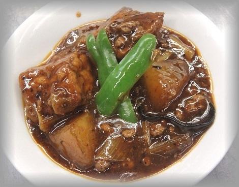 揚げ豆腐の四川味噌煮,西日暮里,子連れ,ランチ