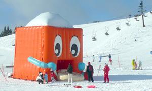 函館山スキー場,関西,雪遊び,スポット