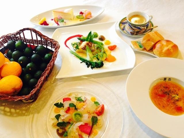 「レストランムッシュ藤田」の料理,徳島,子連れ,ランチ