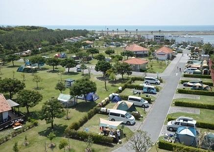 竜洋海洋公園オートキャンプ場,静岡県,キャンプ場,