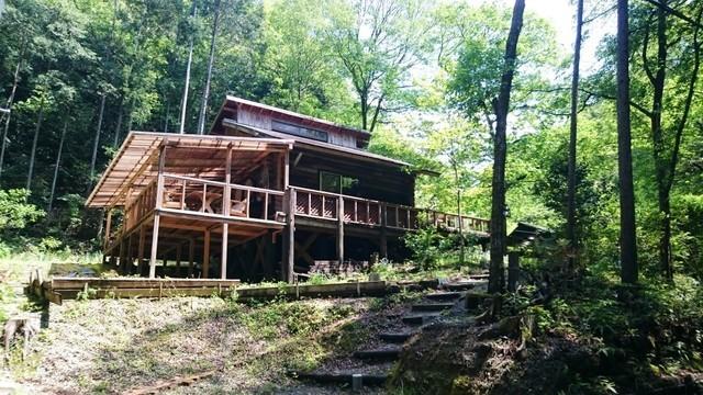 水と木の家,静岡県,キャンプ場,