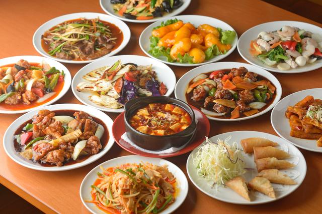 食卓一杯の中華料理,志木駅,子連れ,ビュッフェ