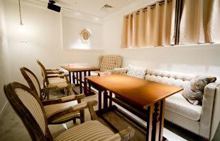 korean cafe dining dammi なんばパークス店の店内,難波,ランチ,子連れ