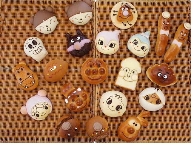 ジャムおじさんのパン工場のパン,ジャムおじさんのパン工場,