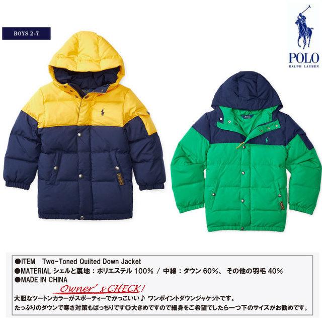 ラルフローレンのジャケット,キッズ,ダウン,