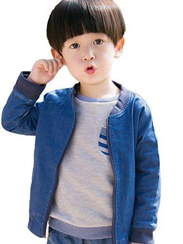 (エックスパス)xpath 子供服 男の子 アウター ジップ ジャケット キッズ コート ボーイズ デニム コットン 130,キッズ,アウター,