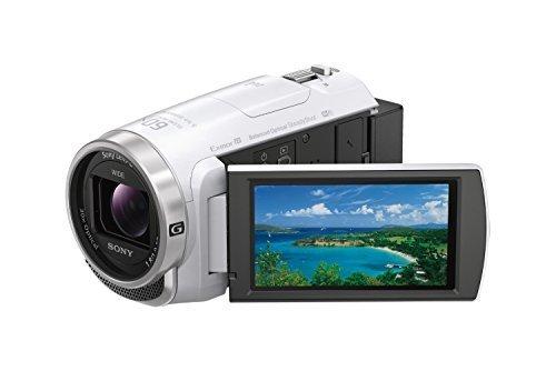 ソニー SONY ビデオカメラ Handycam HDR-CX680 光学30倍 内蔵メモリー64GB ホワイト HDR-CX680 W,デジタル,ビデオ,カメラ