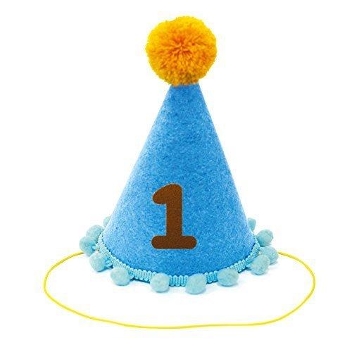 ノルコーポレーション メモリコ フェルトコーン ブルー,誕生日,飾り,