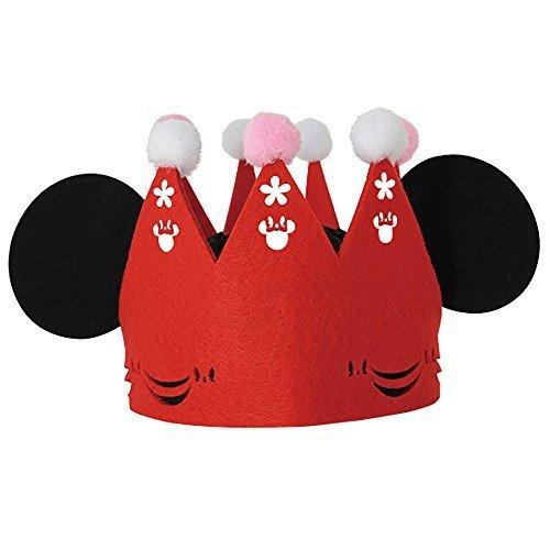 ノルコーポレーション メモリコ memorico スペシャルフェルトクラウン ミニーマウス,誕生日,飾り,