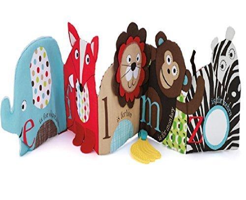 (エイチケーエイチ) HKH いっぱい遊ぼう ズー・ソフトブック ベビー キッズ 音が鳴る 人形 仕掛け 知育 遊具 子供 赤ちゃん おもちゃ (①),出産祝い,布絵本,