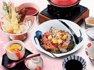 日本大漁物語きじま 桜鯛とオーロラサーモンのひつまぶし御膳,新横浜,個室,ランチ