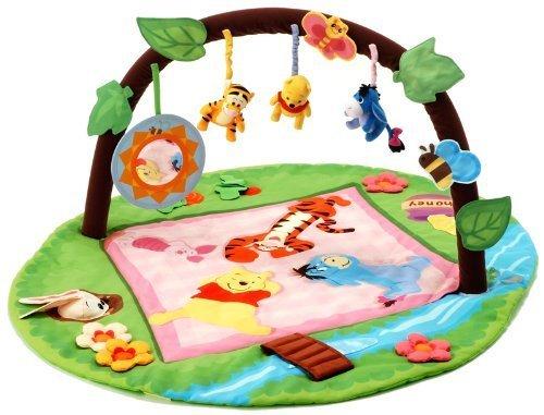 タカラトミー ディズニー くまのプーさん まるごとたためる5ステップジム,赤ちゃん,プレイジム,おすすめ