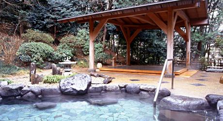 湯本富士屋ホテルの露天風呂,温泉,東京近郊,