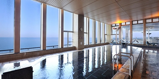 ホテル三日月の展望温泉,温泉,東京近郊,