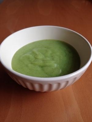 ブロッコリーとかぶらの豆乳ポタージュ♪,離乳食,かぶ,