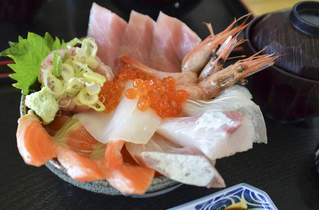 海鮮丼,北千住,ランチ,個室