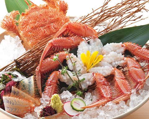 「北の味紀行と地酒 北海道」の料理,北千住,ランチ,個室