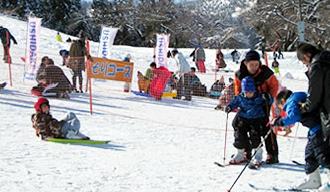 牛岳温泉スキー場,富山県,スキー場,温泉