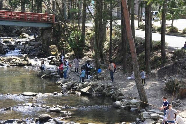 神越渓谷マス釣り場,手ぶら,バーベキュー,愛知県