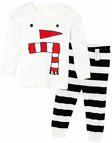 Unifriend 9分袖 9分丈 長袖 ベビ キッズ 男児 綿100% オーガニック ルームウェア パジャマ ねまき 上下セット スマイルスノー -160cm,子供服,サイズ,