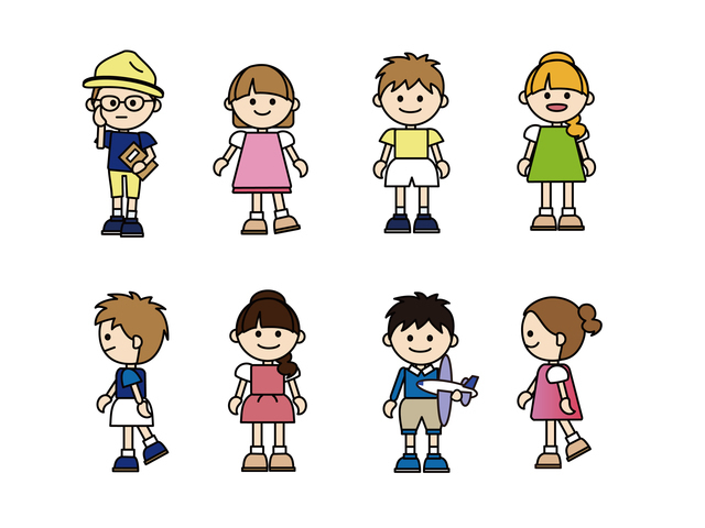 子供のイメージ,子供服,サイズ,