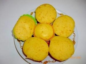 離乳食☆レンジで簡単 かぼちゃの蒸しパン,離乳食,朝ごはん,