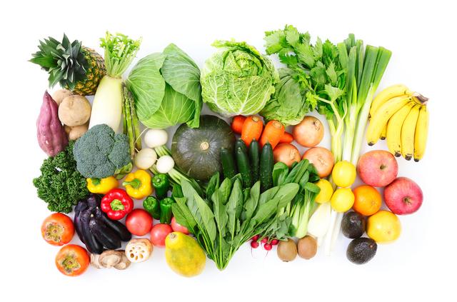 野菜と果物,離乳食,鉄分,
