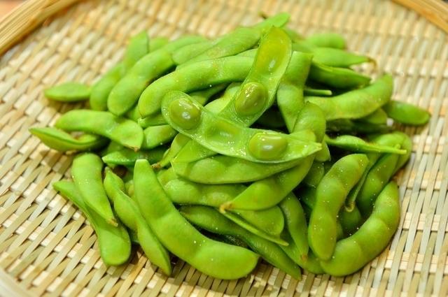 枝豆のさやと豆,離乳食,枝豆,