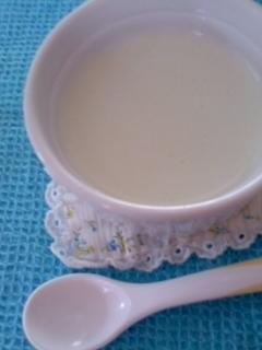 *☆離乳食幼児食・簡単!本格!枝豆ポタージュ☆*,離乳食,枝豆,