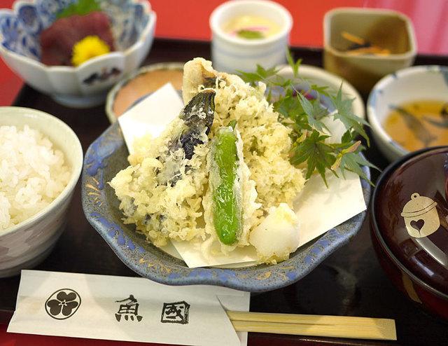 海鮮茶屋 魚國日替わりご飯,小田原,座敷,ランチ