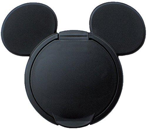 錦化成 ミッキーマウス ウエットティッシュふた ブラック,おしりふき,ふた,