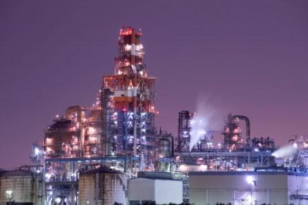 「川崎工場夜景屋形船クルーズ」からの夜景,川崎,工場夜景,