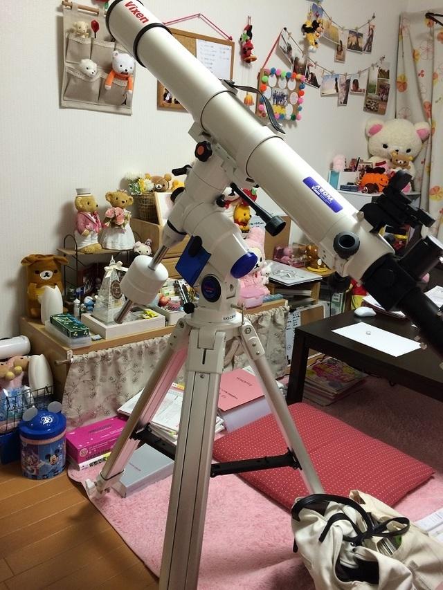 望遠鏡,心に残る,プレゼント,