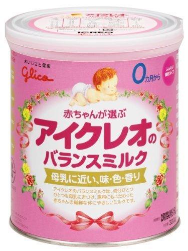 アイクレオのバランスミルク 320g,粉ミルク,選び方,おすすめ