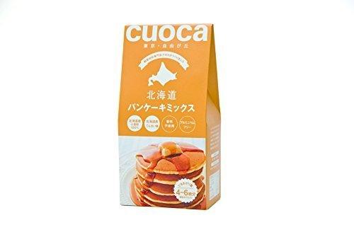 クオカ(cuoca) ミックス粉 北海道パンケーキミックス 200g×3個,離乳食,パンケーキ,