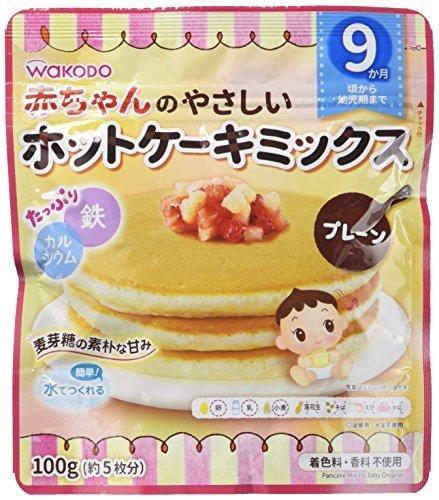 赤ちゃんのやさしいホットケーキミックス プレーン×4個,離乳食,パンケーキ,