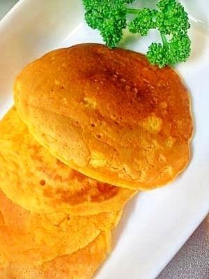 ☆人参パンケーキ(離乳食後期・完了期)☆,離乳食,パンケーキ,