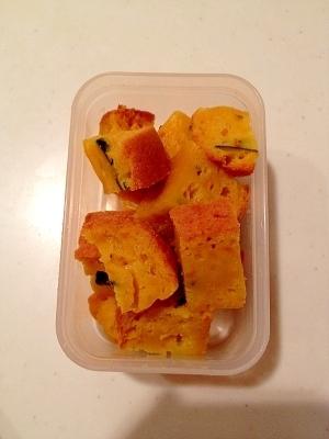 離乳食☆炊飯器で簡単!カボチャ入りホットケーキ,離乳食,パンケーキ,
